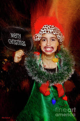 Photograph - Merry Xmas From Me And My Teeth by Blake Richards