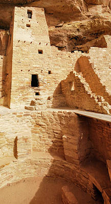 Photograph - Mesa Verde Cliff Dwellings by Gregory Ballos