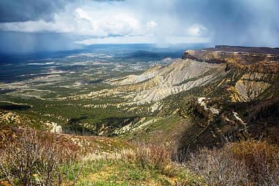 Wall Art - Photograph - Mesa Verde National Park Colorado by Joan Carroll