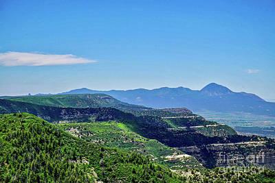 Photograph - Mesa Verde Peaks by Susan Rydberg