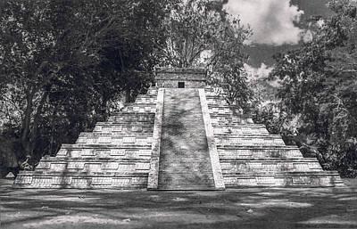 Photograph - Mesoamerican Pyramid by Max Huber