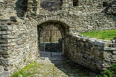Photograph - Mesocco Castle Gate 2 by Dawn Richards