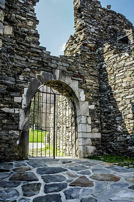 Photograph - Mesocco Castle Gate by Dawn Richards