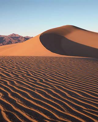 Mesquite Dunes 1-v Art Print