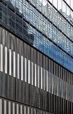 Photograph - Metal And Glass Architecture by Robert Ullmann