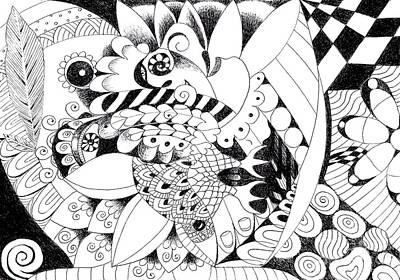 Mixed Media - Metamorphosis 3 by Helena Tiainen