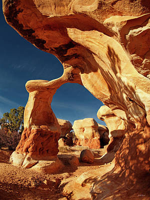 Photograph - Metate Arch by Leland D Howard