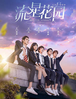 Mixed Media - Meteor Garden 2018 by Fusudrama