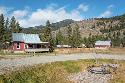 Photograph - Methow Valley Cycling by Tom Cochran
