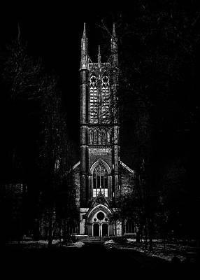 Art Print featuring the photograph Metropolitan United Church Toronto Canada 3 by Brian Carson