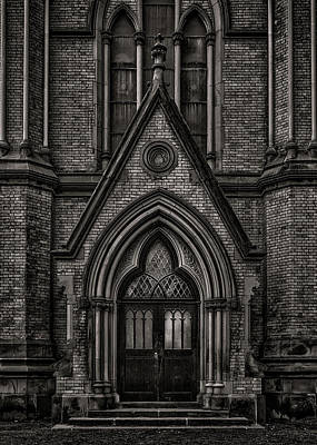 Photograph - Metropolitan United Church Toronto Canada 7 by Brian Carson
