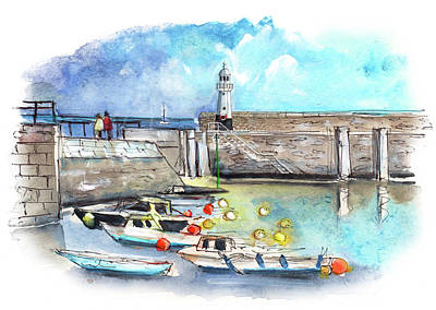 Painting - Mevagissey 01 by Miki De Goodaboom