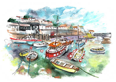 Painting - Mevagissey 02 by Miki De Goodaboom