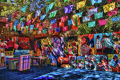 San Jose Wall Art - Photograph - Mexican Art Store by David Smith