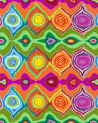 Digital Art - Mexican Colours by Julia Woodman