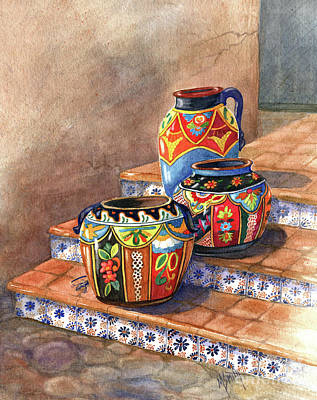 Mexican Pottery Still Life Original