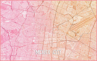 Digital Art - Mexico City by Gary Grayson