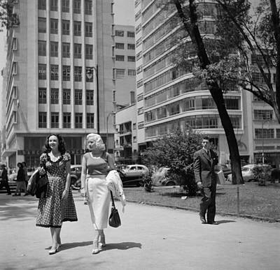 Mexico Photograph - Mexico City, Mexico by Michael Ochs Archives