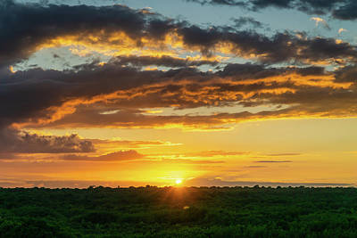 Photograph - Mexico Sunset Full by Dave Matchett
