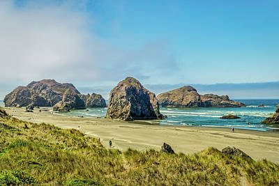 Photograph - Meyers Beach #2 - Oregon by Stuart Litoff