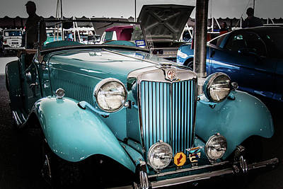 Barrett Jackson Wall Art - Photograph - M G At Barrett-jackson by Andrew Wilson