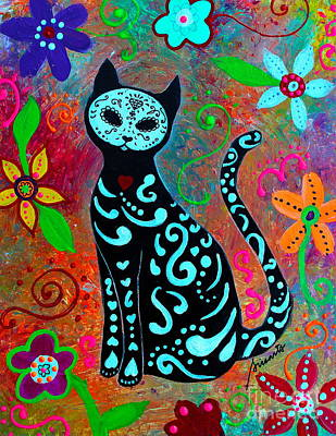 Painting - Mi Gato Dulce by Pristine Cartera Turkus