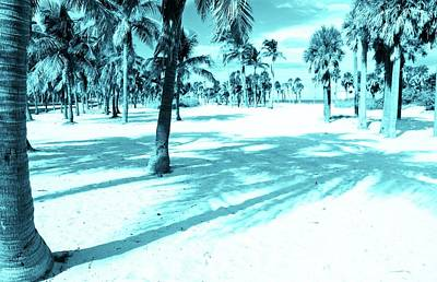 Photograph - Miami Beaches Blues by Jackie Mestrom
