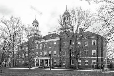 Photograph - Miami University Harrison Hall by University Icons