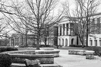 Photograph - Miami University King Library by University Icons
