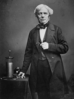 Michael Faraday Art Print by Hulton Archive