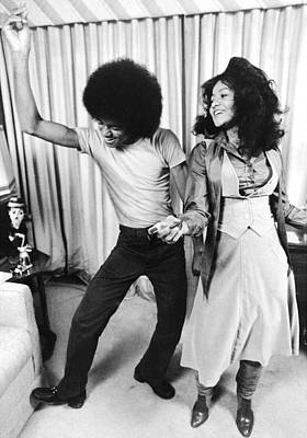 Photograph - Michael Jackson Dances With His by New York Daily News Archive