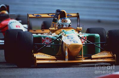 Benetton Wall Art - Photograph - Michael Schumacher. 1993 German Grand Prix by Oleg Konin