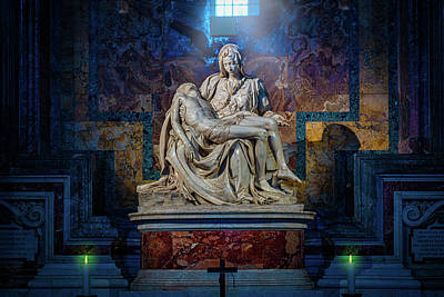 Photograph - Michelangelo's Pieta by Chris Lord