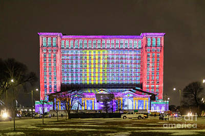 Photograph - Michigan Central Station by Jim West
