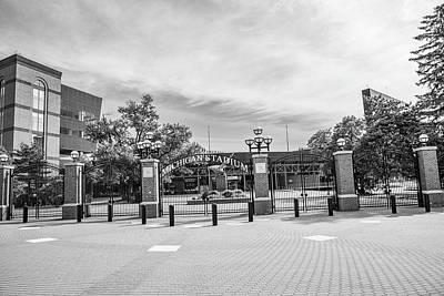 Photograph - Michigan Stadium Entrance 2 by John McGraw