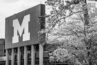 Photograph - Michigan Stadium by John McGraw