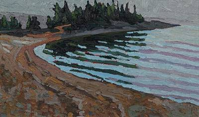 Painting - Michipicoten Point by Phil Chadwick