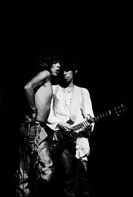 Photograph - Mick And Keith by Steve Wood