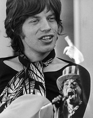 Photograph - Mick Jagger At Home by Ed Caraeff/morgan Media