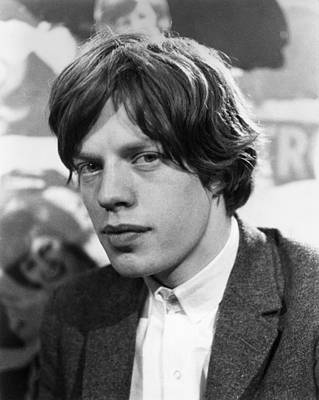 Photograph - Mick Jagger by Express