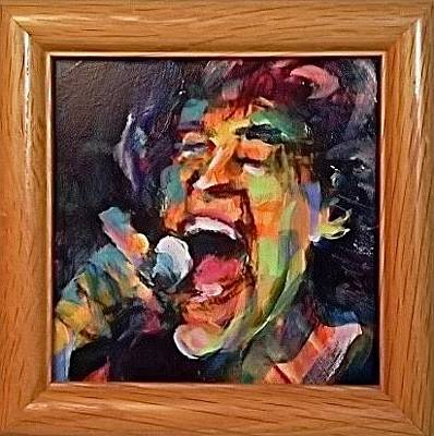 Painting - Mick by Les Leffingwell