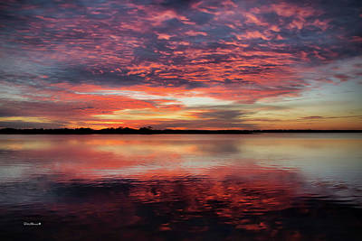 Photograph - Mid October Sunset by Phil Mancuso