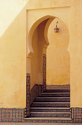 Photograph - Middle Eastern Style Doorway by Guy Erskine