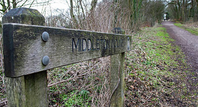 Photograph - Middleton Incline Sign by Scott Lyons
