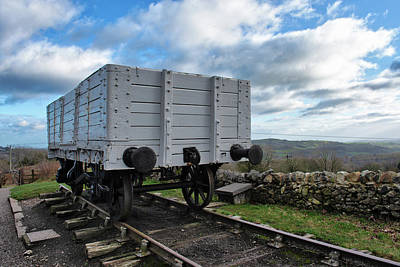 Photograph - Middleton Top Wagon by Scott Lyons