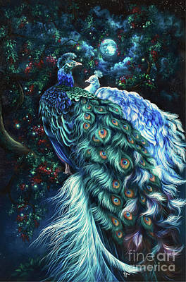 Painting - Midnight Romance by Safa Qureshi