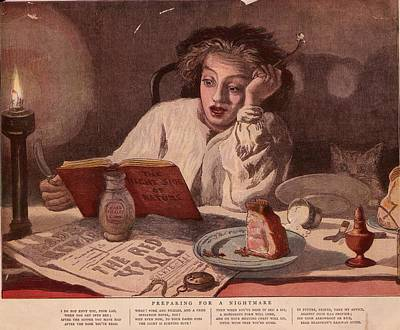 Midnight Snack Art Print by Hulton Archive