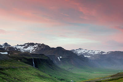 Photograph - Midnight Sun In Iceland by Nicole Young