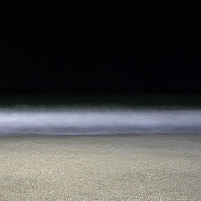 Photograph - Midnight Waves by Gazali
