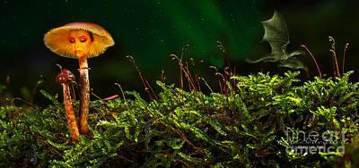 Mixed Media - Midsummer Night Magic by Kira Bodensted